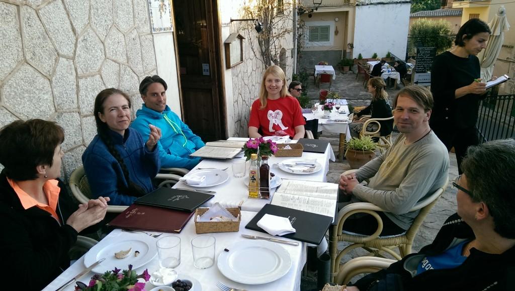 Im Restaurant Montimar
