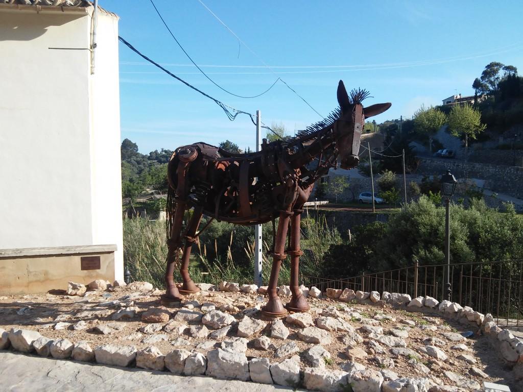 Kunstwerk in Estellencs