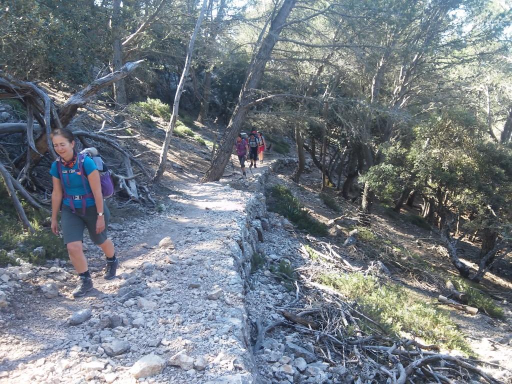Aufstieg zum Es Caragoli