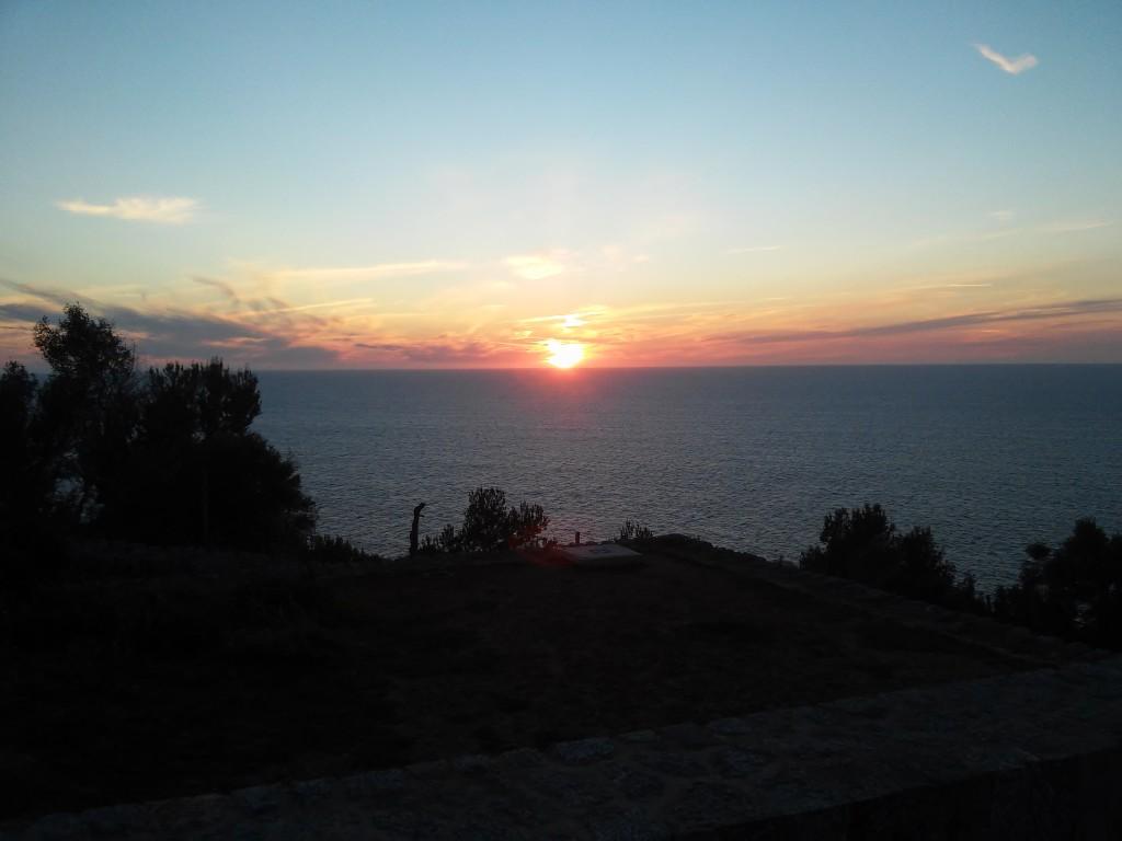 Sonnenuntergang am Cap Muleta