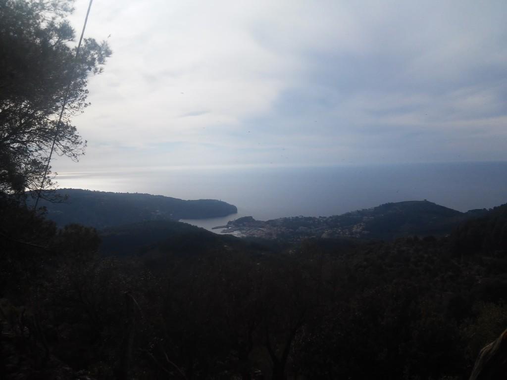 Port Soller und Cap Muleta von oben