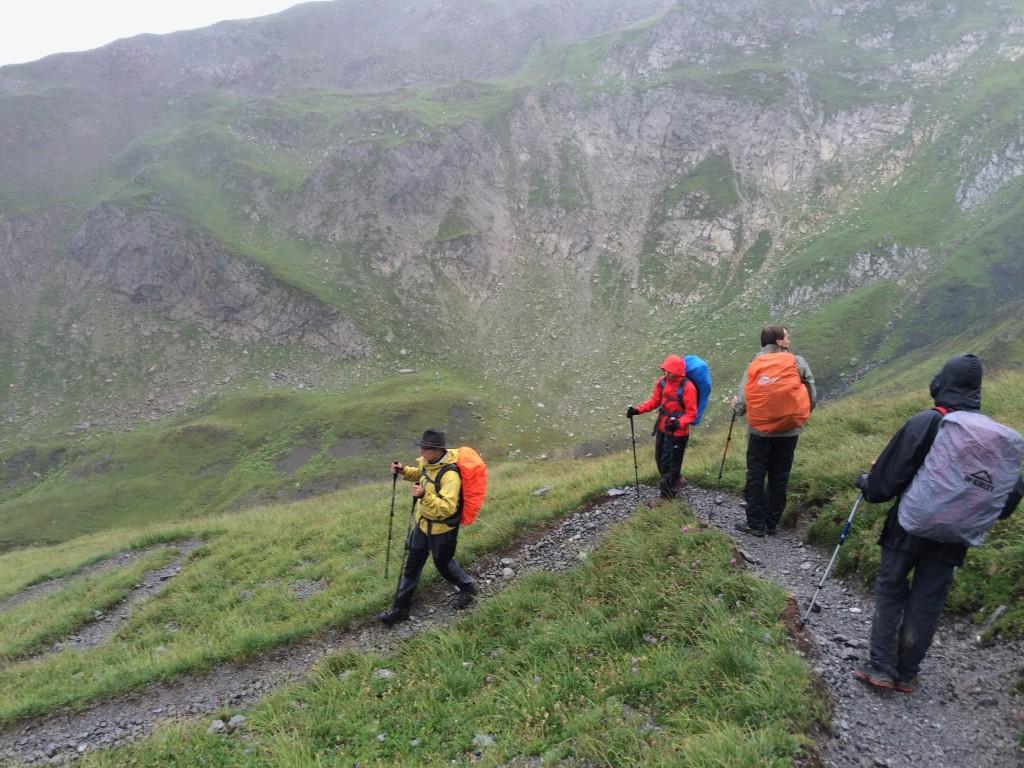 Abstieg zur Erlach-Alm
