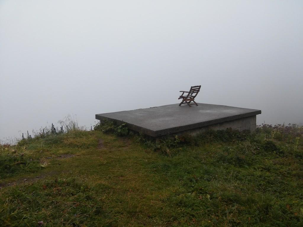 Aussichtsplattform bei der Stuttgarter Hütte