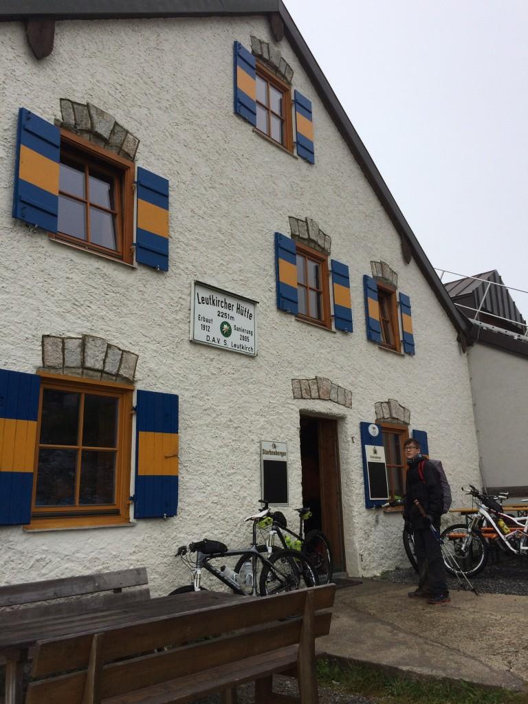 Die Leutkirchner Hütte