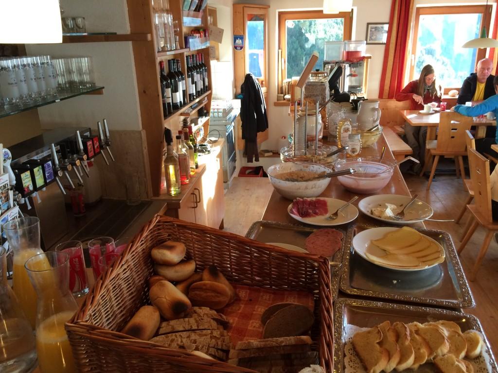 Das Frühstücksbuffet ist ein Foto wert