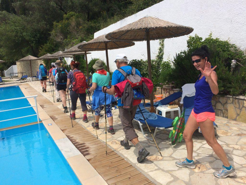 Wandern am Korfu-Trail :-)