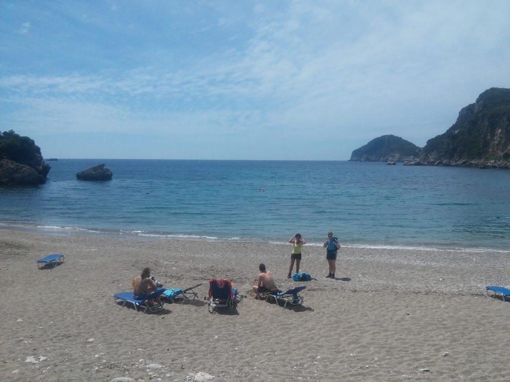 Der Strand von Liapades
