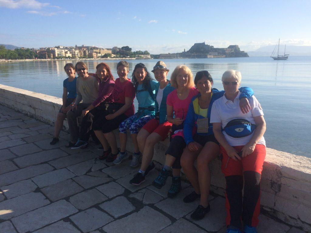 Am Hafen von Korfu