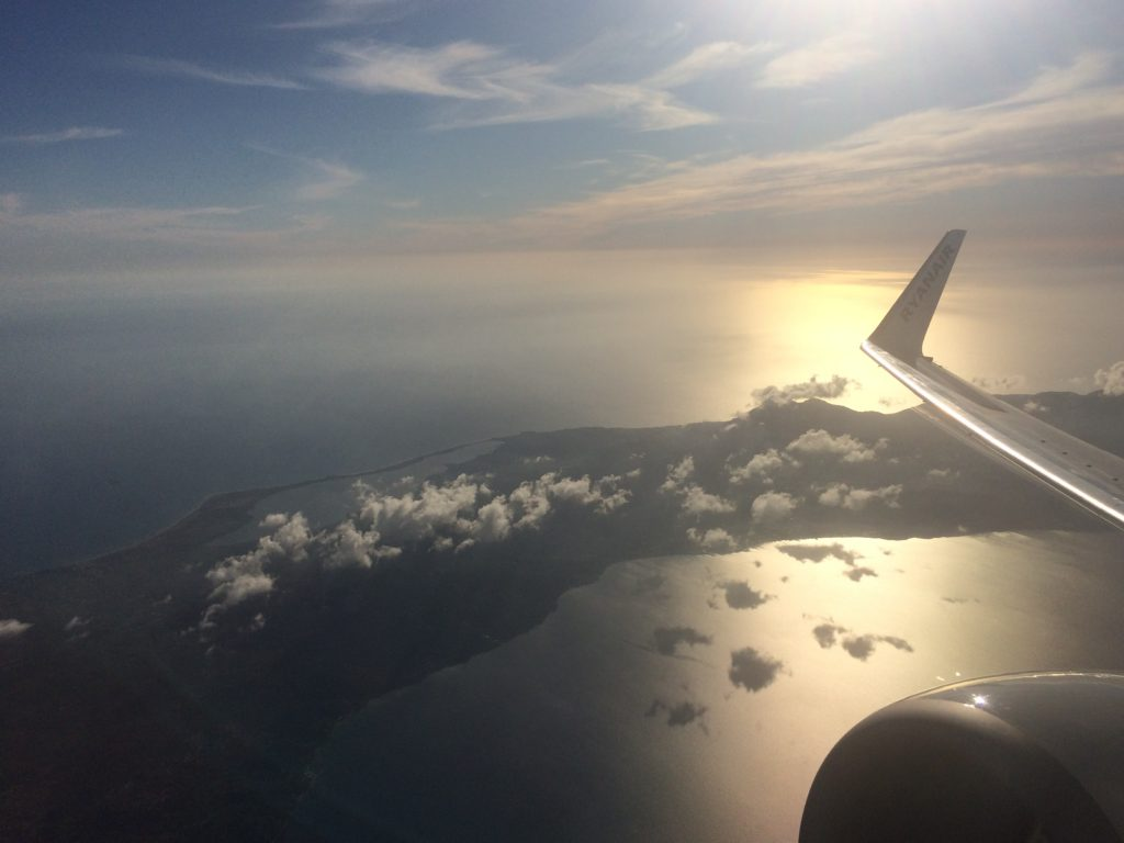 Letzter Blick auf Korfu