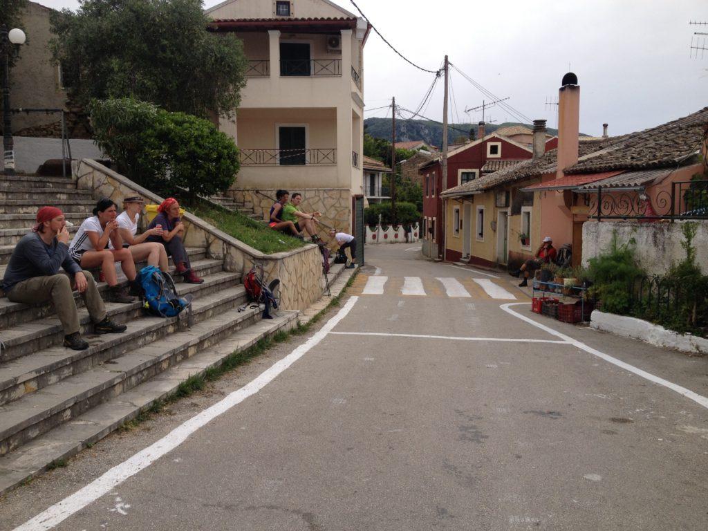Unser Rastplatz in Valanio