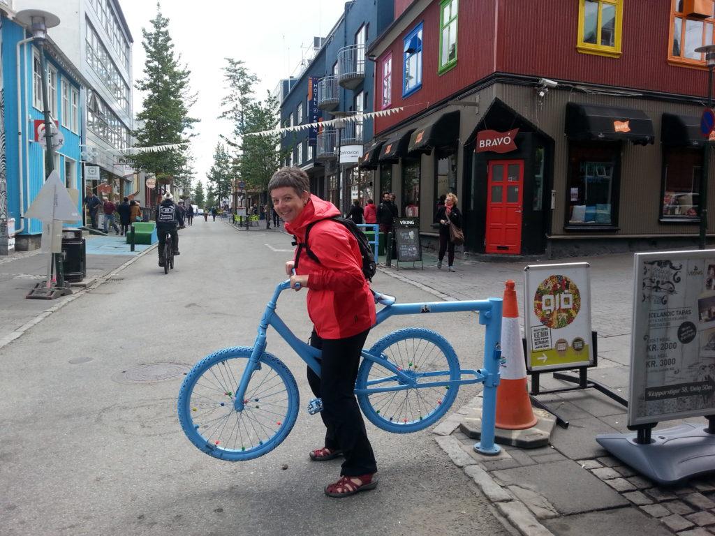 Am Laugavegur in Reykjavik