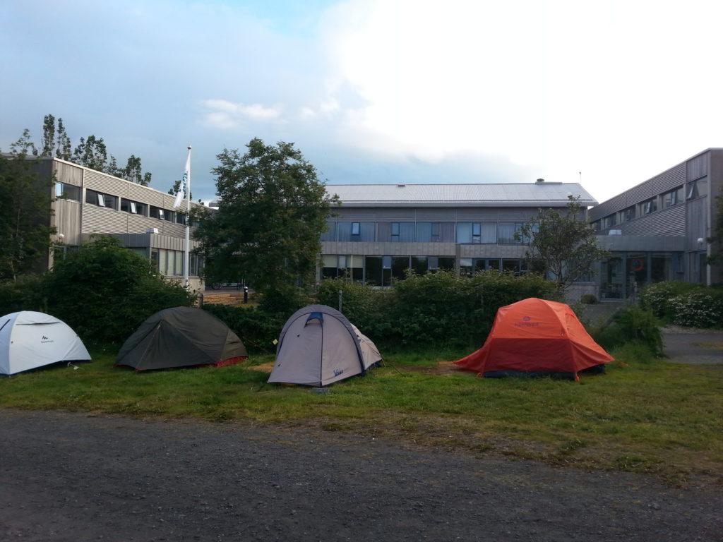 Campingplatz und Hostel in Reykjavik