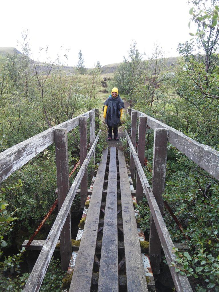 Brücke über die Ljosa