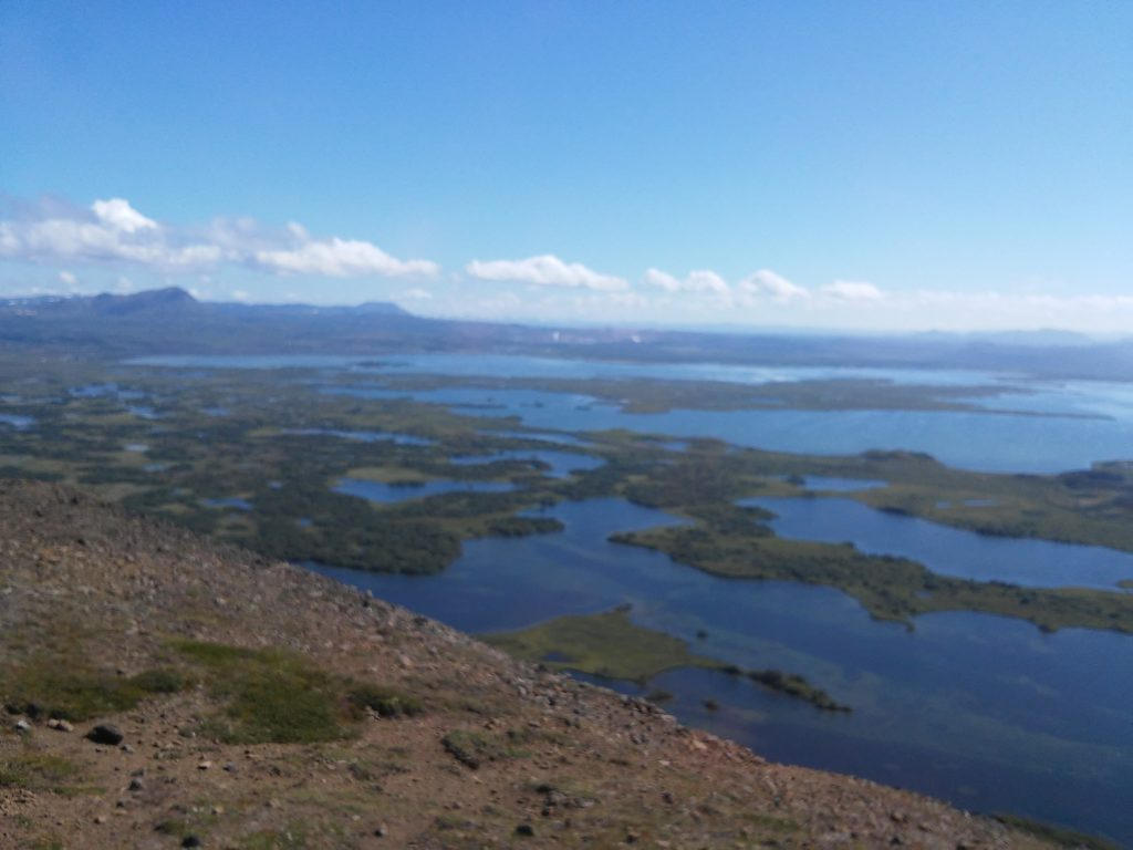 Panorama über das Myvatn-Gebiet