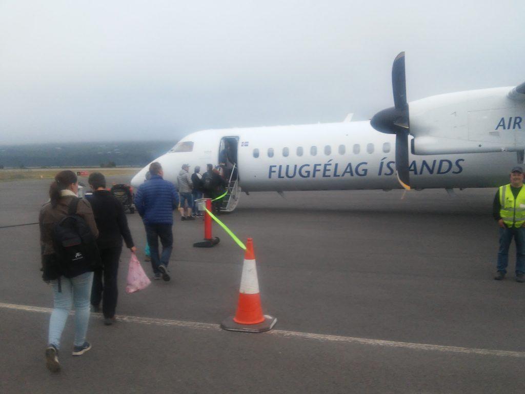 Unsere Maschine für den Inlandsflug