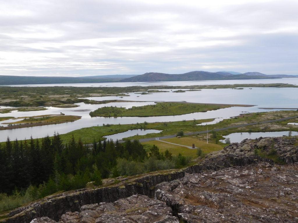 Überblick über das Thingvellir-Gebiet