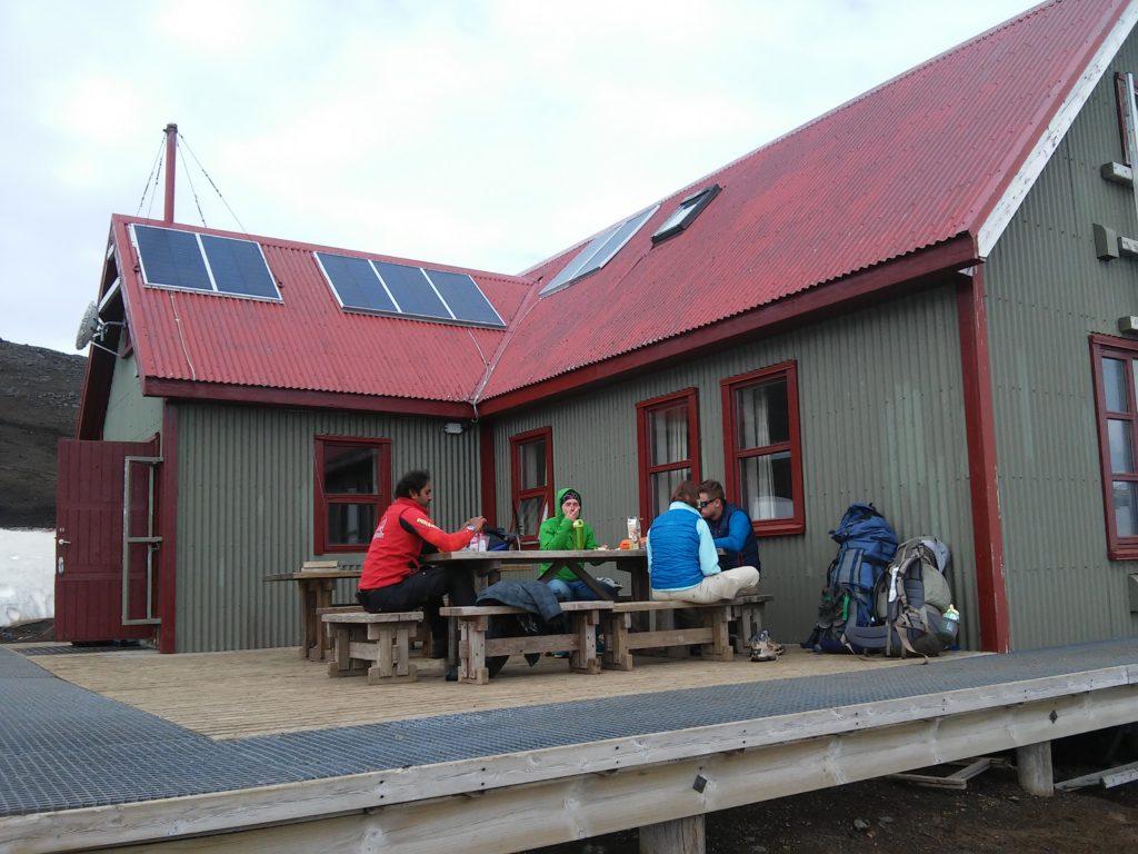 Die Hütte bei Hafrntinnusker