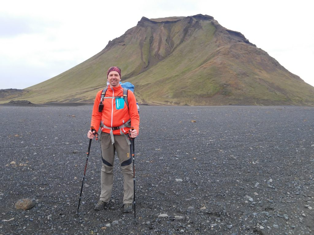 Vor dem markanten Berg Hattafell