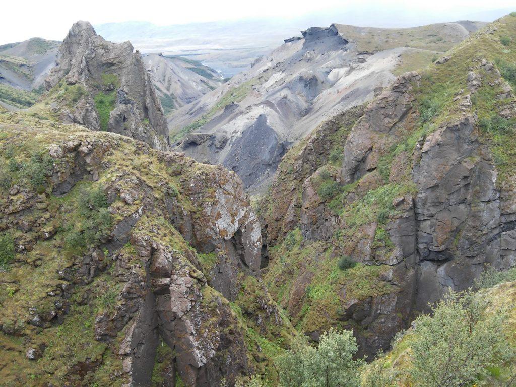 Eindrucksvolle Formationen in Thorsmörk