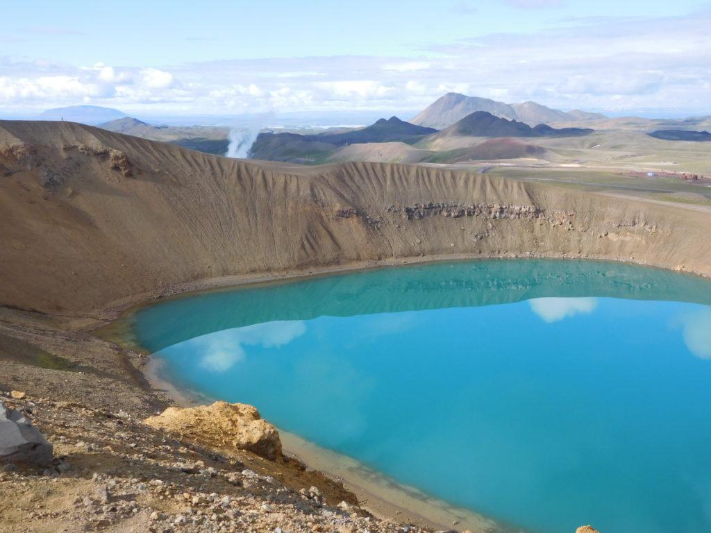 Der Kratersee Viti