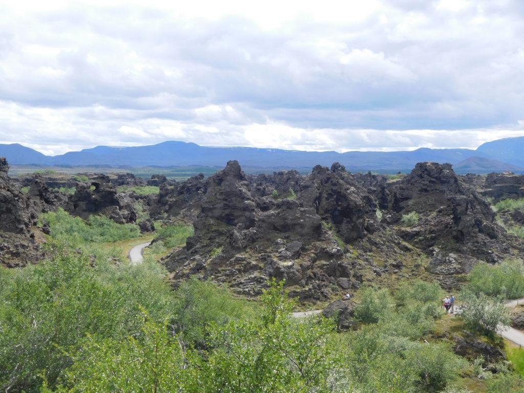 Die Formationen bei Dimmuborgir