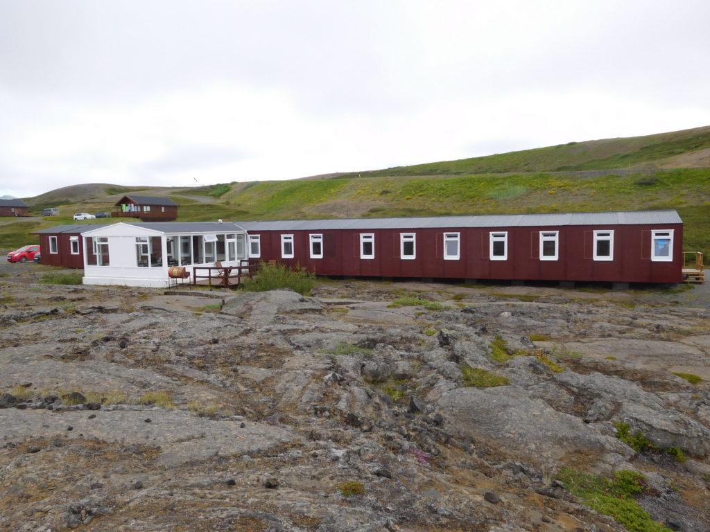 Unser Quartier in Reykjahlid